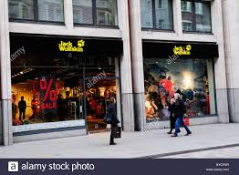 Urban Outfitter Covent Garden - jack wolfskin outdoor clothing shop long acre covent garden
