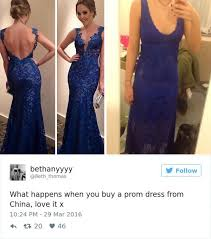 Prom Meme - teens learn the hard way not to buy prom dresses online 26 photos