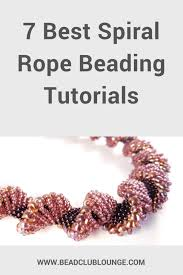 beaded rope bracelet images 7 best spiral rope beading tutorials the bead club lounge png