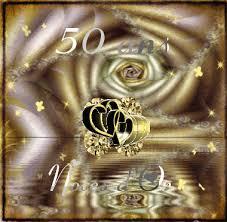 50 ans de mariage noce de quoi gifs 50 ans de mariage animes images noces d or