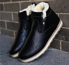 men snow boots 2017 top fashion new winter men casual ankle boots