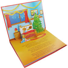 the night before christmas pop up story by alligator books pop