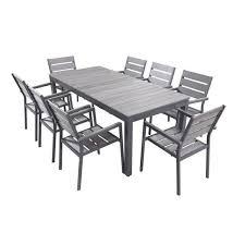 chaise jardin aluminium chaise jardin aluminium table et chaise de jardin aluminium table