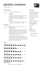 Resume For Hr Manager Position Hr Assistant Resume Sample For Fresher Human Resource Resources