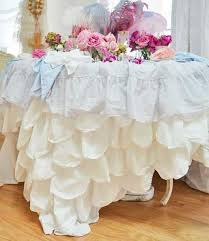 75 best shabby tablecloths images on pinterest french country