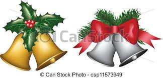 eps vector of gold and silver bells gold and silver