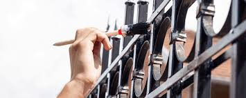 what of paint do you use on metal cabinets how do i paint a metal fence professional tips klium