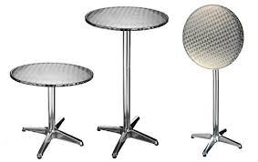Adjustable Bistro Table 2in 1aluminium Bar Table Height Adjustable Bistro Table Garden