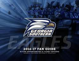 2016 17 fan guide georgia southern athletics by georgia southern