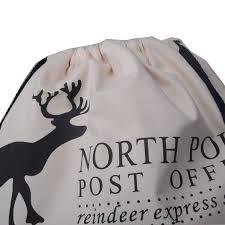large christmas gift bags wholesale 100pcs lot christmas gift bag large canvas santa sack