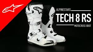 motocross boots alpinestars tech 8 rs boot i alpinestars youtube