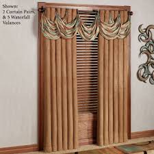 oasis waterfall valance grommet window treatment