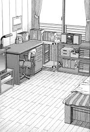 easy 3 point perspective drawing kitchen two how to draw bedroom