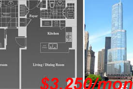 apartments in trump tower how much is too much for a 1bd rental in trump tower curbed chicago