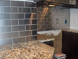 Stainless Steel Tile Backsplash And Stainless Steel Kitchen - Stainless steel kitchen backsplash