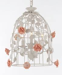 Bird Cage Chandelier J10 2203 3 Gallery Country French Wrought Iron Floral U201cbird Cage