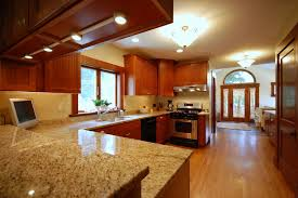 Support For Granite Bar Top Granite Countertop White Cabinets Dark Floors Kitchen Tile And