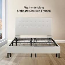 Metal Bed Frame Cover Rest Rite 14 In King Metal Platform Bed Frame With Cover