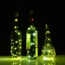 wine bottle halloween amazon com cork bottle lights for wine bottles 3 pack agptek