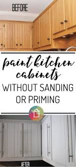 how to paint cabinets without primer painted kitchen cabinet doors without sanding page 5