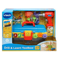 Instructions To Make A Toy Box by Amazon Com Vtech Drill And Learn Toolbox Toys U0026 Games