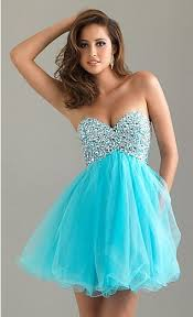 turquoise or black a line short fully beaded sweetheart bodice