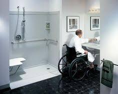 Handicapped Bathroom Showers Bathroom Remodels For Handicapped Barrier Free Disabled Shower
