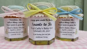 unique baby shower favor honey2 oz honey pot jars