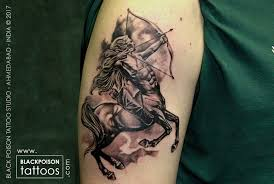 sagittarius zodiac sign tattoo best tattoo artist in india black