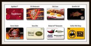 gift cards for restaurants 4x kroger fuel points on gift cards to restaurants