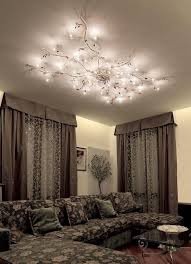 Low Ceiling Lighting Ideas Mesmerize Your Guests With These Gold Contemporary Style Ceiling