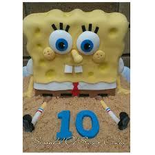 howtocookthat cakes dessert u0026 chocolate spongebob cake