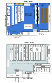 continuing education library floorplan