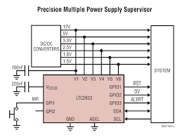 ltc2933 programmable hex voltage supervisor with eeprom linear
