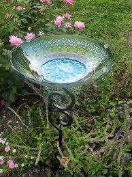 wilson and fisher solar lighted bird bath stained glass bird bath