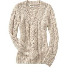 cable knit sweater womens navy womens chunky cableknit sweaters polyvore