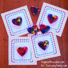 crayon valentines crayon hearts