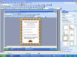 design invitations in microsoft powerpoint