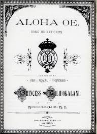 aloha ʻoe wikipedia