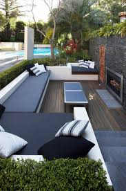 amusing view outdoor living space ideas and modern sliding door