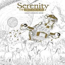 serenity coloring book tpb profile dark horse comics