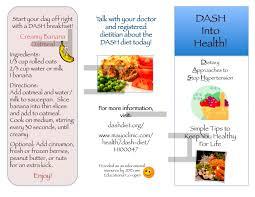 nutrition brochure template dash diet brochure nutr 360