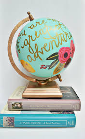 floral quote globe globe anthropologie and tutorials
