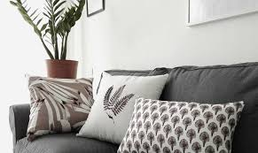green leaves decorative pillows for living room shabby chic throw