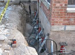 Basement Systems Of New York by Foundation Pier Installation In Brooklyn New York City Bronx Ny
