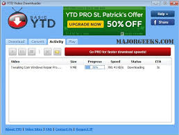 youtube downloader free software for downloading videos download ytd video downloader majorgeeks