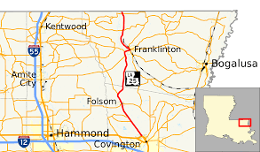 La City Map Louisiana Highway 25 Wikipedia