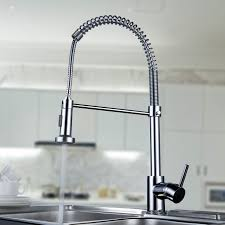 Kitchen Faucets High End Kitchen Cool Best Two Handle Kitchen Faucet Coil Spring Basic