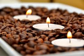 coffee bean candle diy scented coffee bean tea candles
