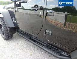 mopar side steps for jeep wrangler unlimited amazon com tyger auto tg ja2j2239b side tyger armor